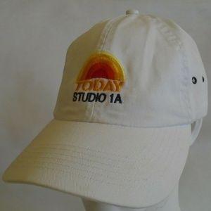 NBC News Today Show Baseball Cap Hat TV Logo 1A